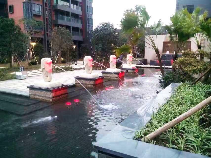 顺德龙江中汇一米范小区园林景观设计工程实景图六