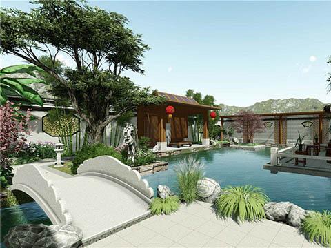 <b>陈先生别墅花园设计方案动画效果展示</b>