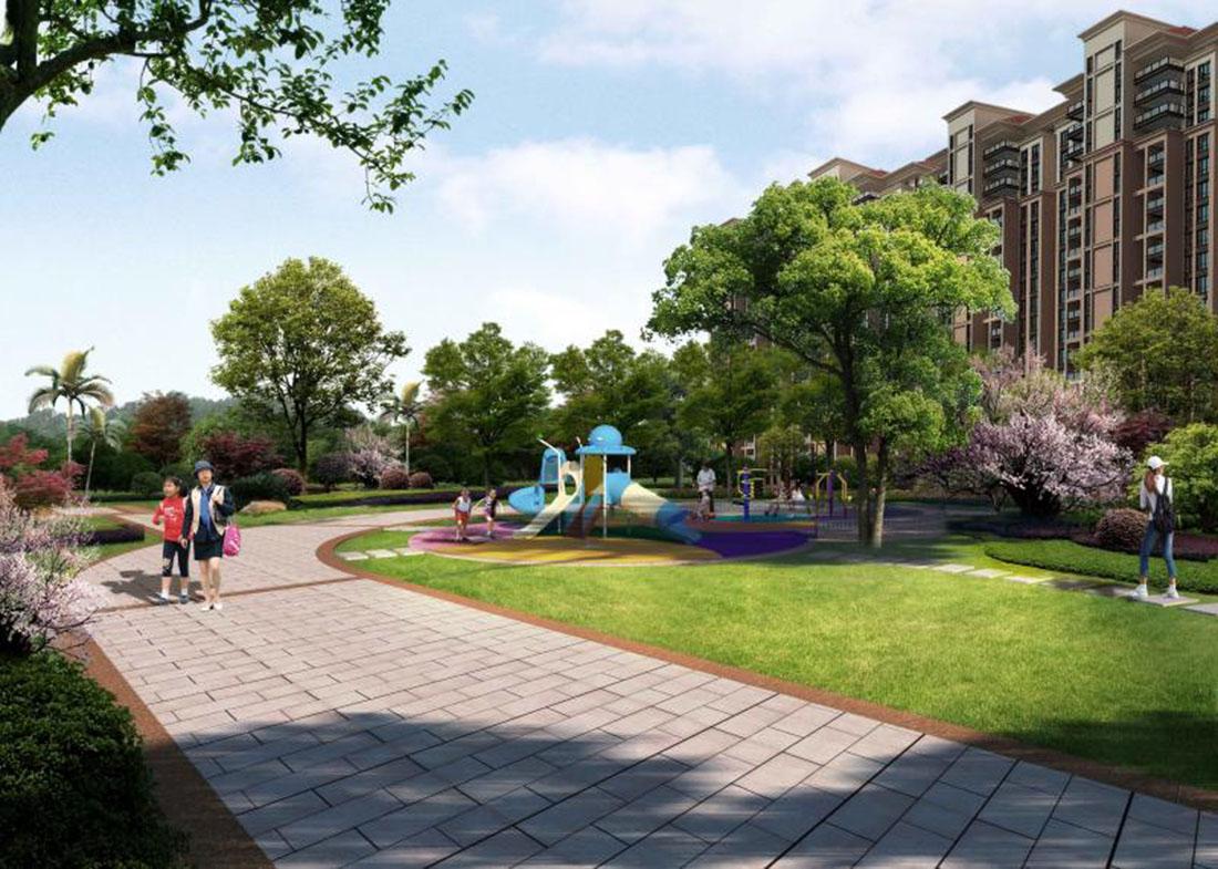 居住小区二期园林景观设计方案五
